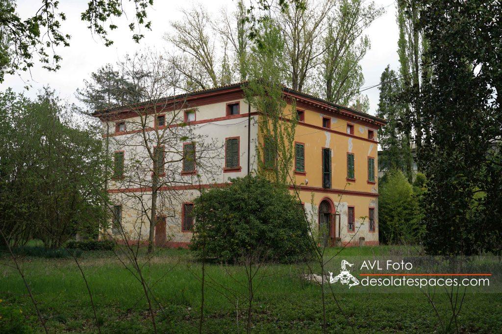 Villa veduta esterna